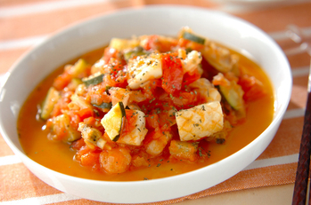 シーフードのトマト煮