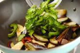 ナスとゴーヤの炒め物の作り方1