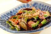 ナスとゴーヤの炒め物の作り方5