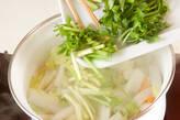 白菜の干し貝柱風味煮の作り方6