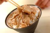 鯛のゴマダレ丼の作り方3