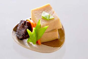 高野豆腐の炊き合わせ