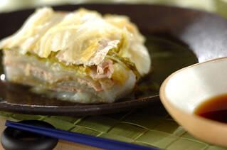 豚肉と白菜のミルフィーユ