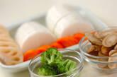 根菜と手羽先のうま煮の作り方1
