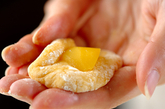 栗の揚げドーナツの作り方1