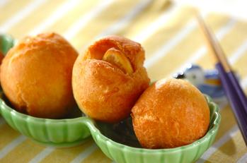 栗の揚げドーナツ