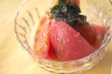 トマトとワカメのサラダ