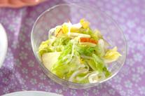 春キャベツの手もみサラダ