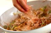 豆腐と豚肉の炒め物の作り方3