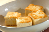 豆腐と豚肉の炒め物の作り方1