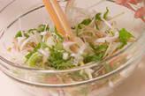 イカの黄身酢和えの作り方2