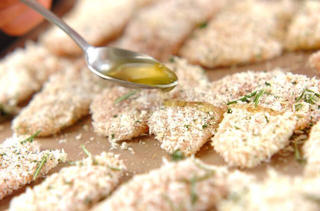 鶏肉の香りパン粉焼きの作り方の手順6
