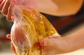 タンドリーチキンサンドの作り方2