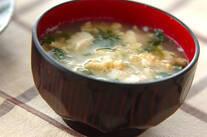 豆腐のフワフワ汁