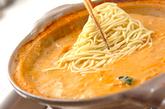 豆乳キムチ鍋の作り方4
