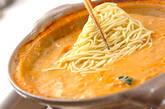 豆乳キムチ鍋の作り方12
