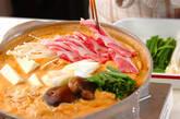 豆乳キムチ鍋の作り方11