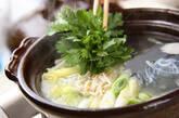 野菜たっぷり!あったかカニ鍋の作り方3