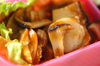 ホタテとエリンギの中華炒め