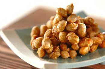 かりかりメープル大豆