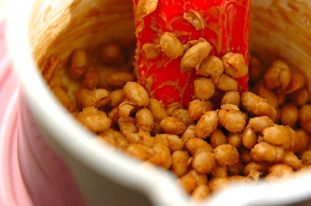 かりかりメープル大豆の作り方の手順2