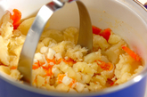 具だくさんポテトサラダの作り方3