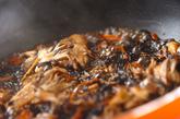 キノコと芽ヒジキの煮物の作り方2