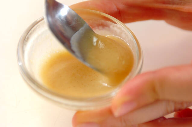 練りからし入り納豆汁の作り方の手順2