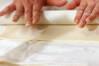 リンゴのパイとナッツのパイの作り方の手順4