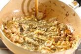 豚肉ともずくの卵炒めの作り方3