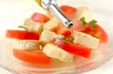 豆腐とトマトのサラダの作り方5