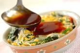 モヤシとニラの卵とじ丼の作り方6