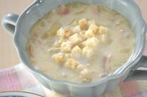 ジャガイモのミルクスープ