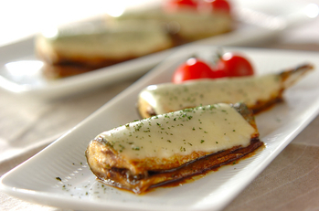 サンマのチーズ焼き