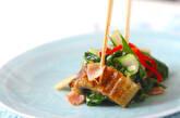 うまい菜とウナギの炒め物の作り方10