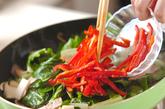 うまい菜とウナギの炒め物の作り方3