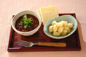 チーズカレーつけ麺