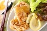 揚げ鶏レモンソース