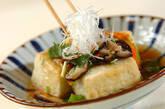 あんかけ揚げ出し豆腐の作り方10