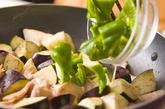 ナスと豚肉の味噌炒めの作り方2