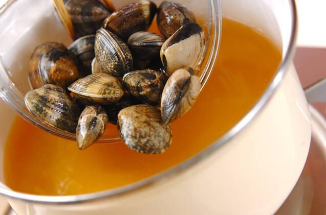 大根アサリのスープの作り方の手順5