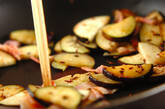 ナスのクミン炒めの作り方3