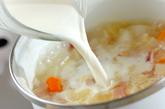 大根のミルクスープの作り方3