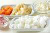 大根のミルクスープの作り方の手順1