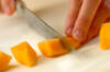 マンゴー杏仁のアイスキャンディーの作り方の手順2