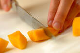 マンゴー杏仁のアイスキャンディーの作り方2