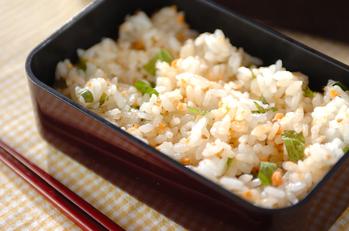 鮭と大葉のちらし寿司