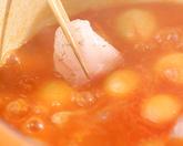 小さい玉ネギのスープの作り方3