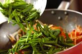 ミミガーのキムチ炒めの作り方2