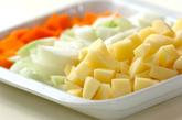 納豆カレードリアの下準備3